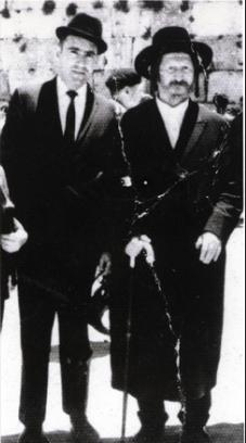 Rav Berg e Rav Brandwein